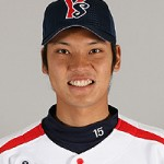 Pitcher Kyohei Muranaka (no. 15).