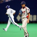 Nakazawa had just the one bad inning, but it would cost Tokyo the game