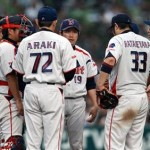 Ishikawa and co. ponder the loss of the lead in the 6th