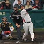 Balentien adds two more runs to Tokyo's lead.