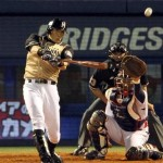 Gold uniforms are classless enough to be a Hanshin thing.