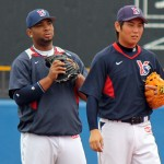 Kawabata made his return this week, Balentien's bat is still missing.