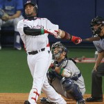 Balentien had an immediate impact with the Swallows.
