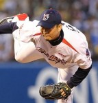 Tateyama pitched 8 innings giving up 5 hits and a walk. While getting 7 strikeouts.