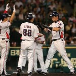 Kawabata helped keep tis one close with his 2-run HR in the 5th.