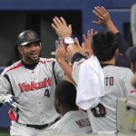 Balentien is responsible for the only two runs that Tokyo has scored in this series. Unlike yesterday, his home run made the difference today.